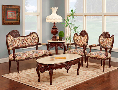 French Provincial Loveseat 505 Provincial