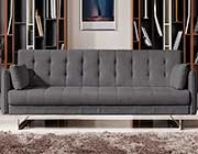 Convertible Grey Tufted Sofa DS 075