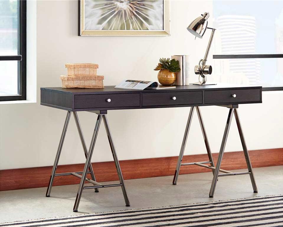 Dark Grey Computer Desk Co 016