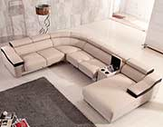 Leather Sectional Sofa EF369