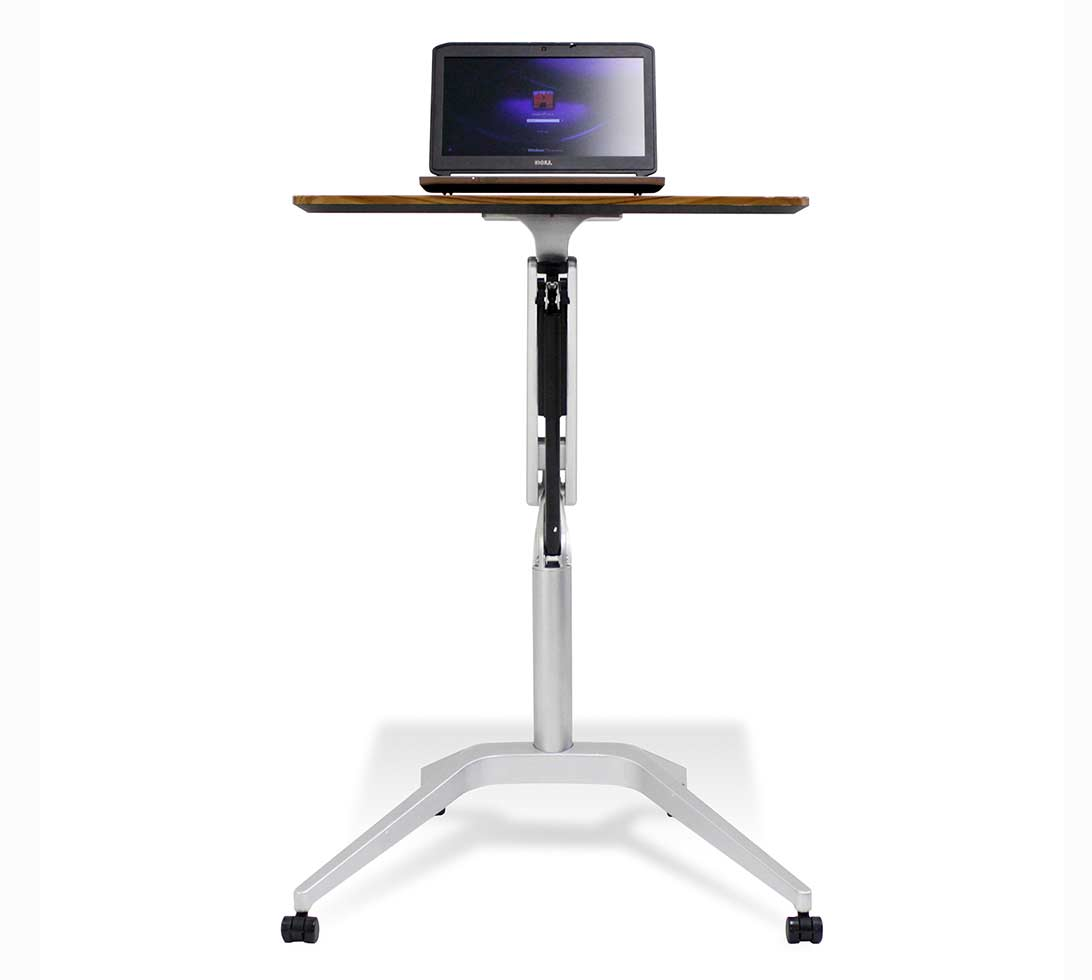 Workpad Adjustable Desk By Unique Furniture 201 Computer
