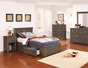 Platform Bed Gunsmoke finish CO931