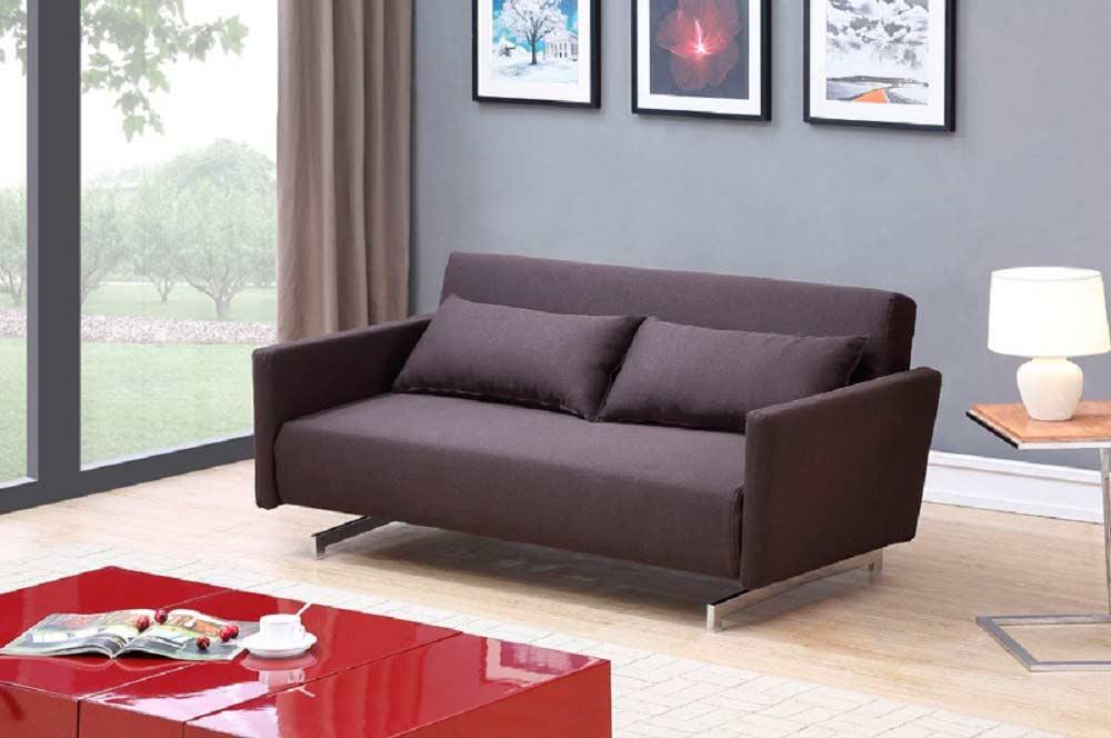 Chocolate Brown Sofa Sleeper Nj 923