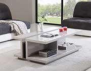 High Gloss White Coffee table BM 31