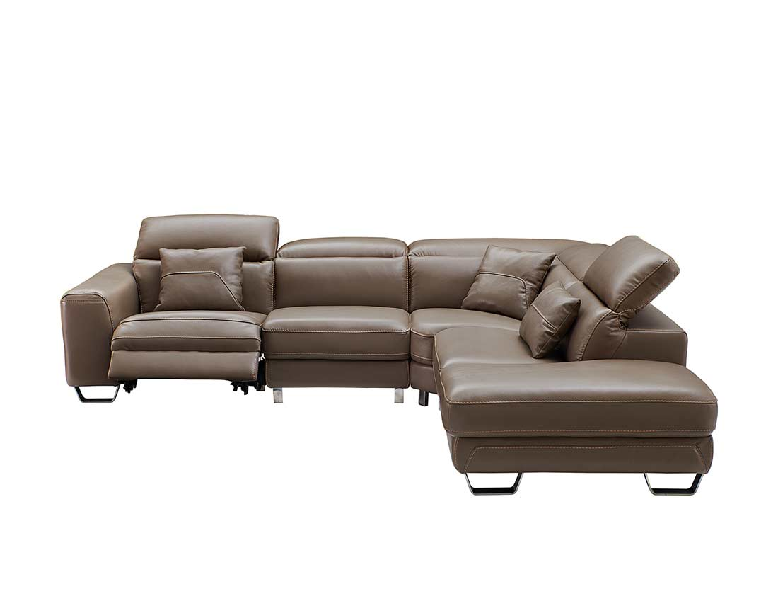 Astounding Electric Recliner Sectional Sofa Ef 68 Leather Sectionals Gamerscity Chair Design For Home Gamerscityorg