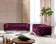 Modern Purple Sofa set VG Delora