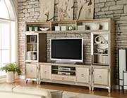 Antique Gold Entertainment Center AC Valio