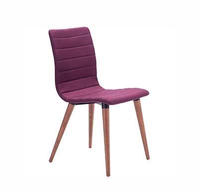 Purple Tufted Chair Z275