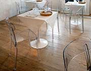 Retro Clear Dining chair by Domitalia