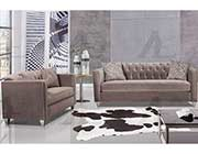Light gray fabric sofa set AE 602
