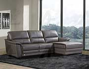 Italian Leather Sectional Sofa AE046