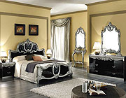 Biaggio Black Bedroom Set