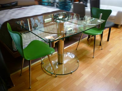 Extendable Oval Dining Table CR-30