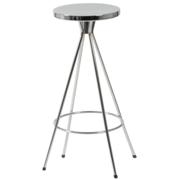 Caroline Swivel Counter Stool-Chrome-Chrome