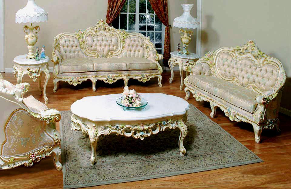 Ordinaire ... Sofa Provincial Victorian Model 6381 ...
