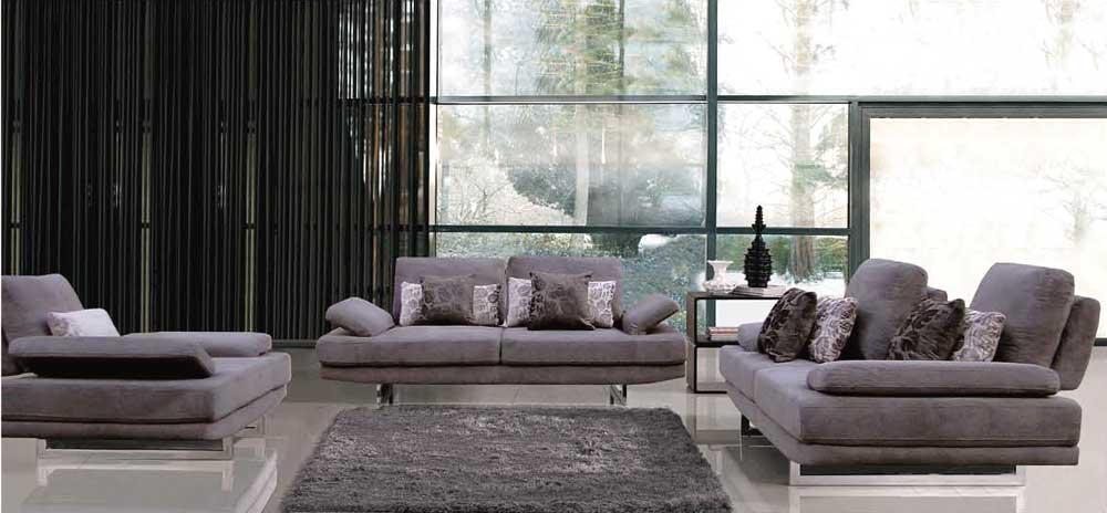 Modern Furniture Greensboro modern fabric sofa set ef 174 | fabric sofas