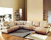 VG-612 Modern Leather sectional sofa