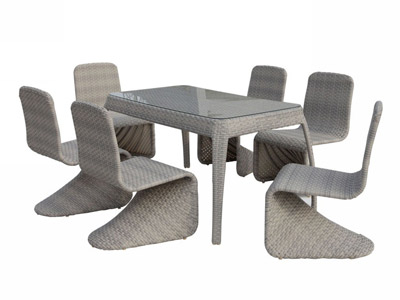 Alba Patio Dining Set VG03