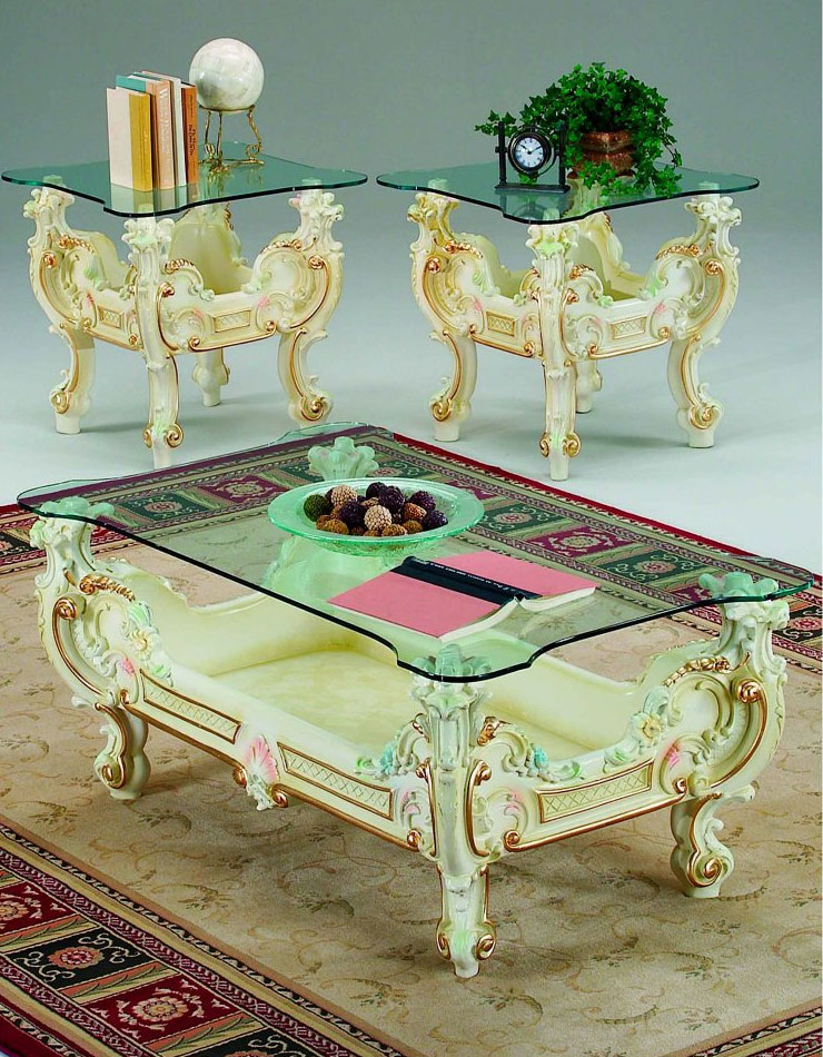 Baroque Coffee Table 05 Baroque Coffee Tables