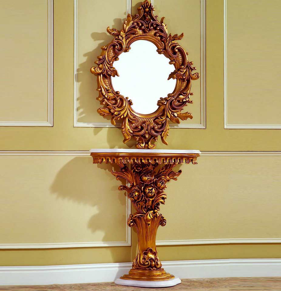 Baroque Console Table 02 Hallway
