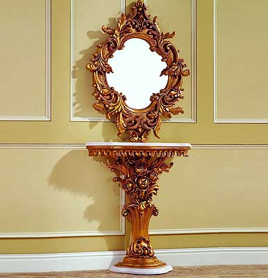 Baroque Console Table 02