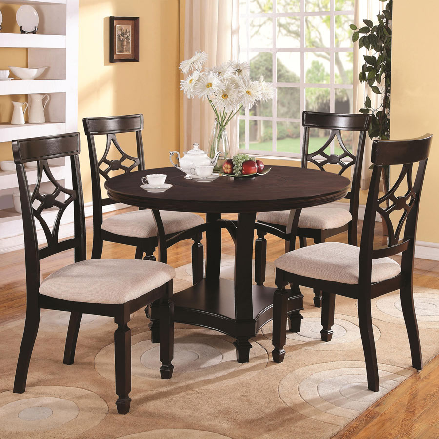 Dining Table Co Round Dining Table Co 630 Urban Transitional Dining