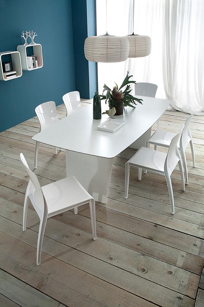 stone-t 200 white dining tabledomitalia | domitalia dining