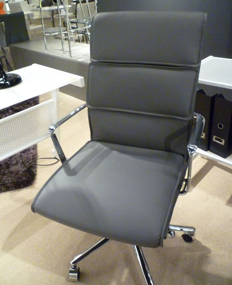 Lee Grey Office Chair Office Chairs - Grey office chair