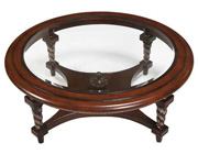 BT 095 Italian Brown Cherry Coffee Table
