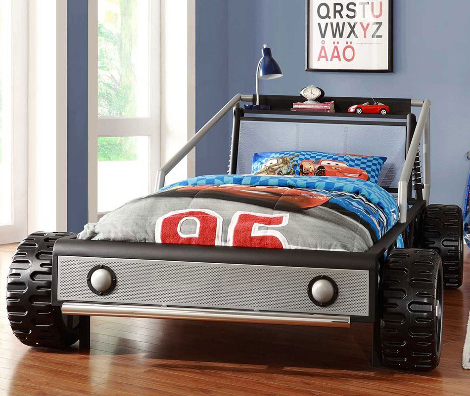 pics photos kids race car bedroom furniture race car bed for kids