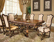 BT 038 Classical Italian Extendable Dining set