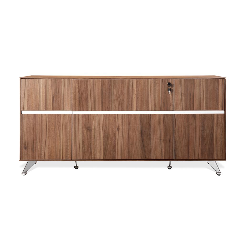 Unique furniture 300 collection walnut desk 300 unique desks for Walnut furniture