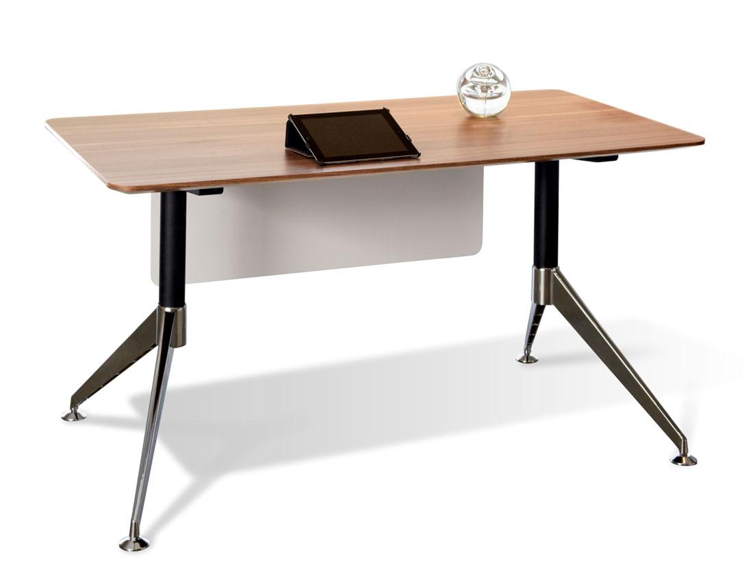 Unique Furniture 300 Collection Walnut Desk 300 Unique Desks
