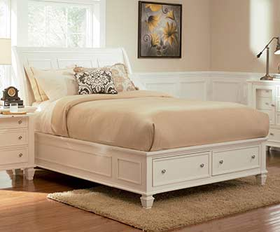 Samanta Storage Bed CO  309