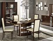 Modern Walnut Dining Collection EF Rica