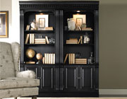 Telluride Bunching Bookcase With Doors by Hooker Furniture