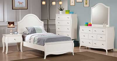 White bed CO561
