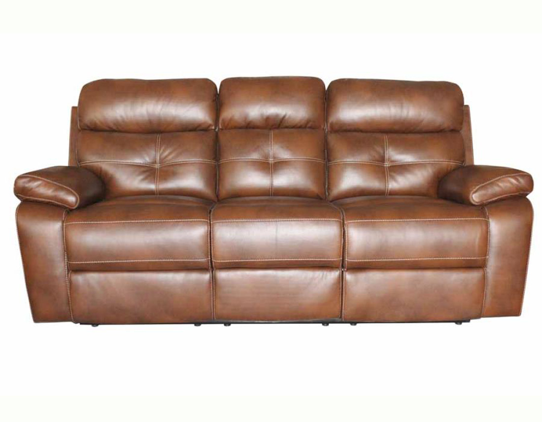 Reclining leather sofa and loveseat set co91 traditional for Leather reclining sofa