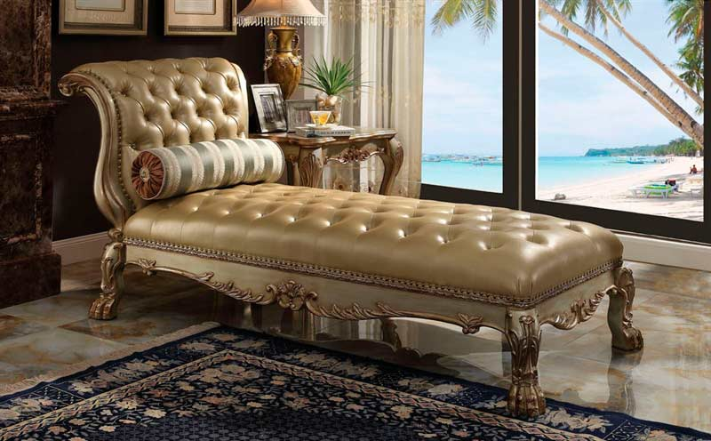 Traditional Chaise Ac Delmon Accent Seating