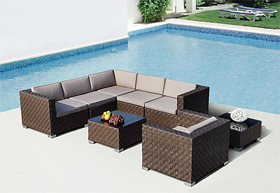Modern Sectional Sofa Set VG76