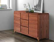 Walnut Modern Buffet Z056
