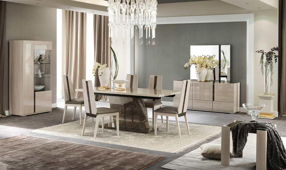 Teodora Extendible Dining By Alf Furniture Alf Dining