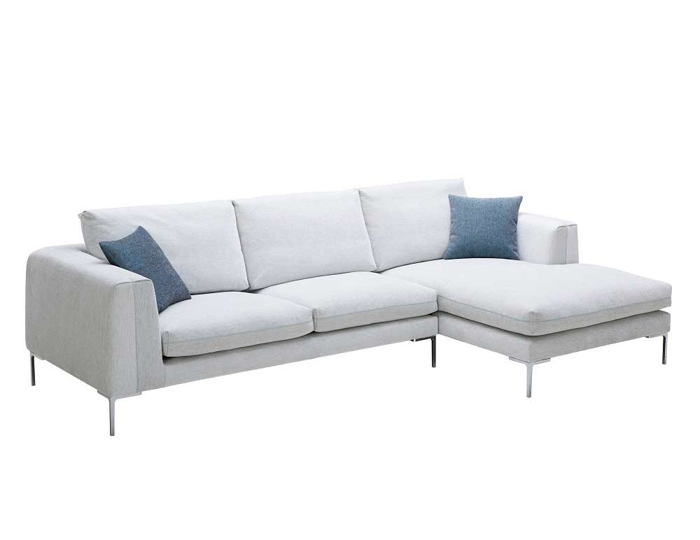 off white fabric sectional sofa nj blanca fabric sectional sofas. Black Bedroom Furniture Sets. Home Design Ideas