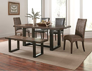 Transitional Two Tone Dining table CO641