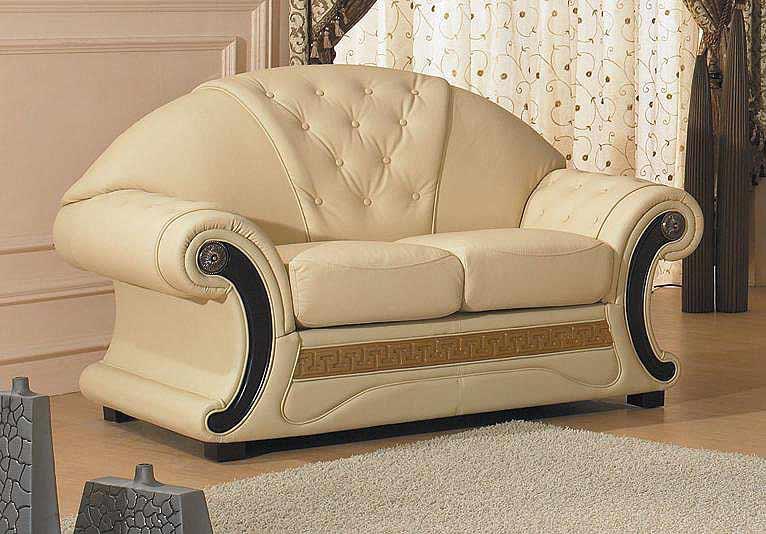 Barocco Leather Sofa Provincial