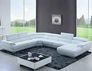 Leather Sectional Sofa EF430