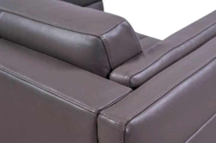 Top Grain Leather Orson Sofa By Moroni