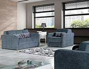 Gray Fabric Sofa Bed Form