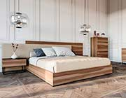 Matte Walnut Bedroom Set VG 123