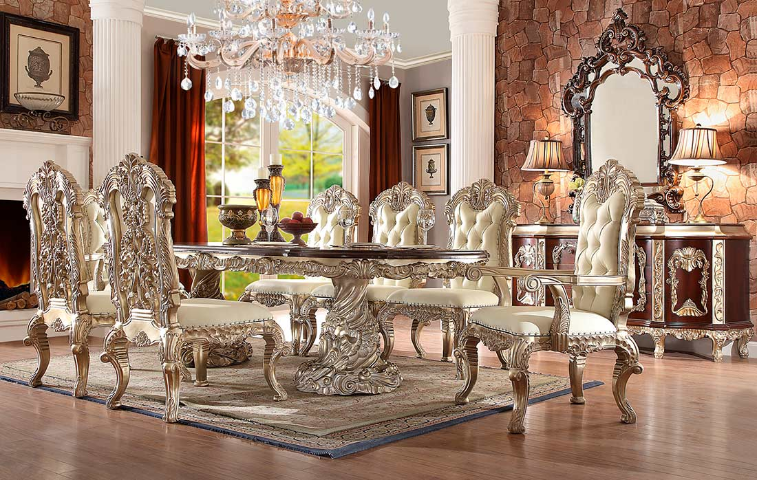 Antique White Dining Table Hd 017 Classic Dining
